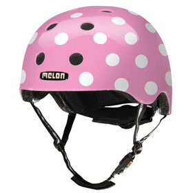 Melon Urban Active Story Fahrradhelm dotty pink